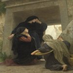 William Bouguereau (1825-1905)  Le Saintes Femmes au Tombeau  Oil on canvas  Private collection, USA